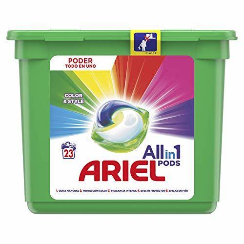 Ariel Colour Detergent In Capsules–24Washes.