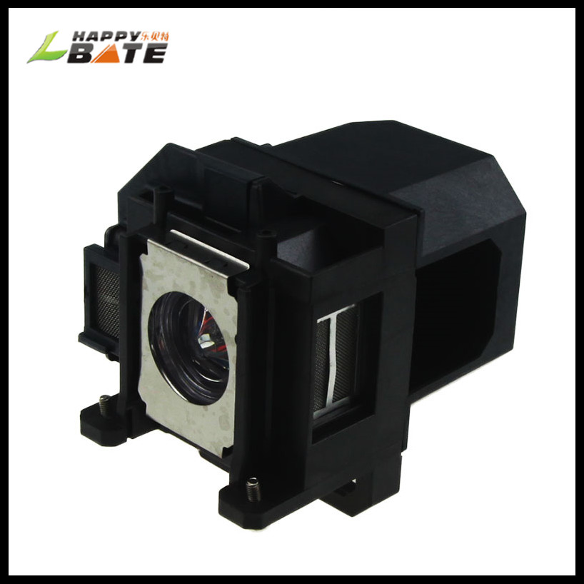 HAPPYBATE Compatible Lamp With Housing ELPLP53 V13H010L53  For EB-1910/EB-1915/EB-1920W/EB-1925W For Lamp Projector