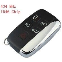 Автомобильный Дистанционный смарт-ключ для Land Rover Дискавери 4/freelander для Range Rover Sport/Evoque, ID46 чип 5 кнопок