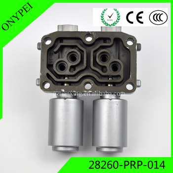 High Quality 28260-PRP-014 Dual Linear Solenoid 28260PRP014 For Honda Accord CR-V Element Acura RSX TSX 28260 PRP 014