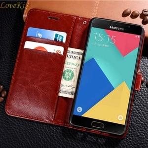 Кожаный чехол-бумажник для телефона Samsung Galaxy A3 A5 A7 2017 J5 J2 Prime A 10 20 30 40 50 70 A6 A7 A8 A9 2018 S8 S9 S10 Plus
