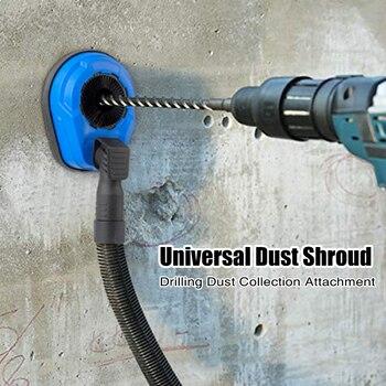 Cubierta Universal de polvo, accesorio giratorio de colección para taladro de impacto de martillo eléctrico