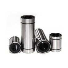 цена на 10pcs/lot Linear Bearings LM3UU LM4UU LM5UU LM6UU LM20UU LM6LUU LM13LUU Linear Bearings for Rods Liner Rail Linear Shaft Parts