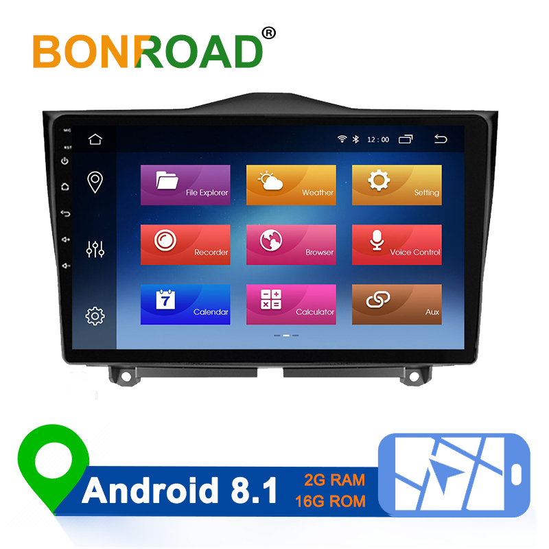 Bonroad 2din 9 inch Android 8.1 Car Radio Multimedia Video Player Navigation GPS No DVD BT For LADA ВАЗ Granta Cross 2018 2019 image