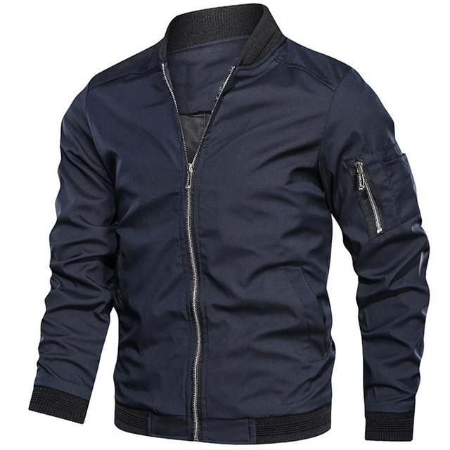 Mens jackets and coats Men's bomber jacket Spring   1