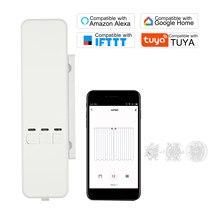 Moteur d'entraînement de stores roulants à chaîne motorisée, WiFi Tuya intelligent, bricolage, Compatible avec Alexa Google Home App commande vocale