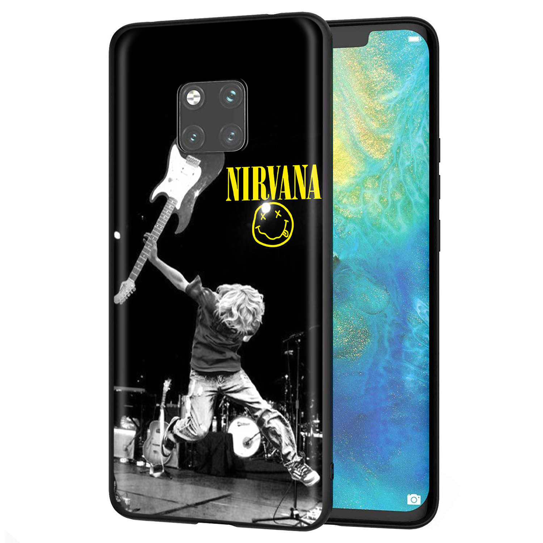 YIMAOC Nirvana Kurt Cobain di Caso per Huawei Mate 30 20 Honor Y7 7a 7c 8c 8x9 10 Nova 3i 3 Lite Pro Y6 2018 P30 P smart