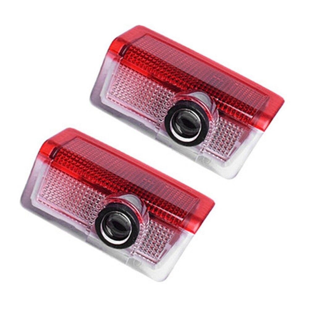 LED Car Door ยินดีต้อนรับโลโก้ไฟเลเซอร์โปรเจคเตอร์โคมไฟสำหรับ Mercedes Benz W205 W212 AMG W213 GLC X253 X166 W166 w176 W177 W246 GLA