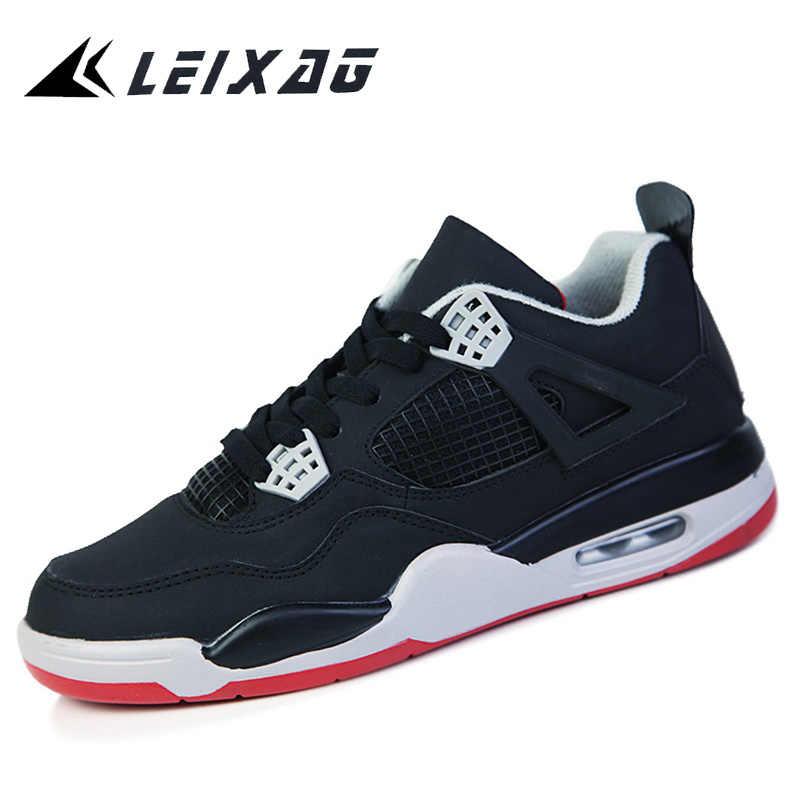 Leixag 男性と女性のバスケットボールシューズ通気性ヨルダンの靴男子バスケットボールスポーツの靴の秋屋外バスケットオム zapatos
