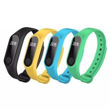 Smart Bracelet Band M2 Waterproof Heart Rate Monitor Bluetooth Sleep Fitness Tracker Pedometer Wristband