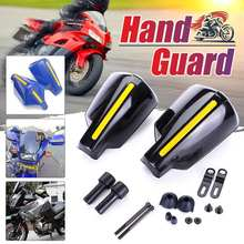 2X Motorcycle Hand Guard Handle Protector Shield Motorbike Motocross Scooter Windproof Handlebar HandGuards Protection Motobike(China)