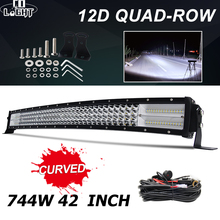 купить CO LIGHT 4-Rows 384W 564W 744W 888W 924W 4x4 Work Led Bar Offroad Combo Beam Led Light Bar for 4WD 4x4 Car Truck SUV ATV 12V 24V в интернет-магазине