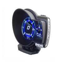 Car Digital Boost Gauge Magician F835 OBD 2 Display Voltage Speed Meter ect Water Temp Alarm Auto Diagnostic Car accessories