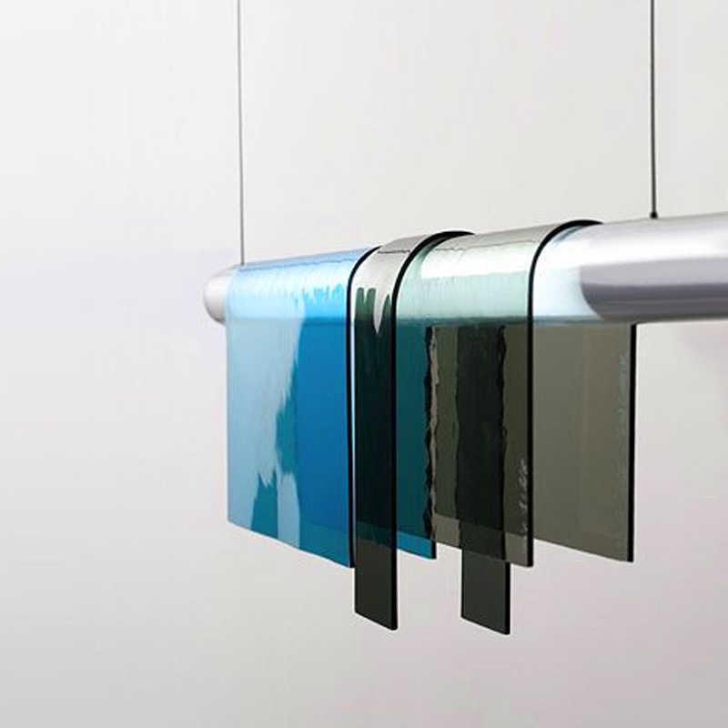 ลม Nordic โคมไฟตารางโคมไฟแสงหรูหราโคมระย้าร้านอาหารโคมไฟบุคลิกภาพ creative LED strip designer โคมไฟ