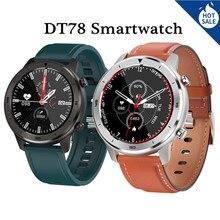 DT78 Смарт-часы для мужчин для женщин Смарт-часы Браслет фитнес Водонепроницаемый сердечного ритма IOS Android спортивные часы PK Amazfit GTR