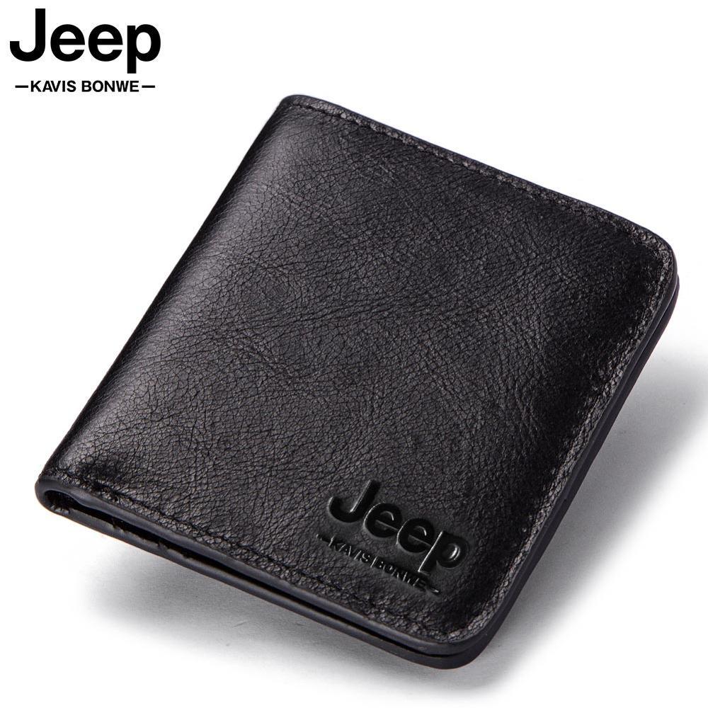 Thin Genuine Leather Men's Wallet Vintage Short Male Wallets Zipper Poucht Male Purse Money Bag Portomonee Slim Male Card Holder