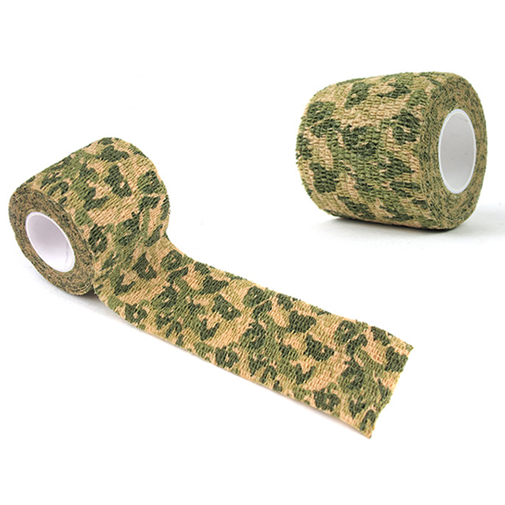 Self-adhesive Non-woven Outdoor Camouflage Tape For Wrap Rifle Hunting Cycling Tape