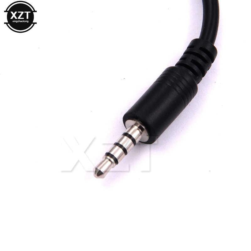 3.5mm macho áudio aux jack para usb 2.0 tipo um fêmea otg conversor adaptador cabo para carro mp3