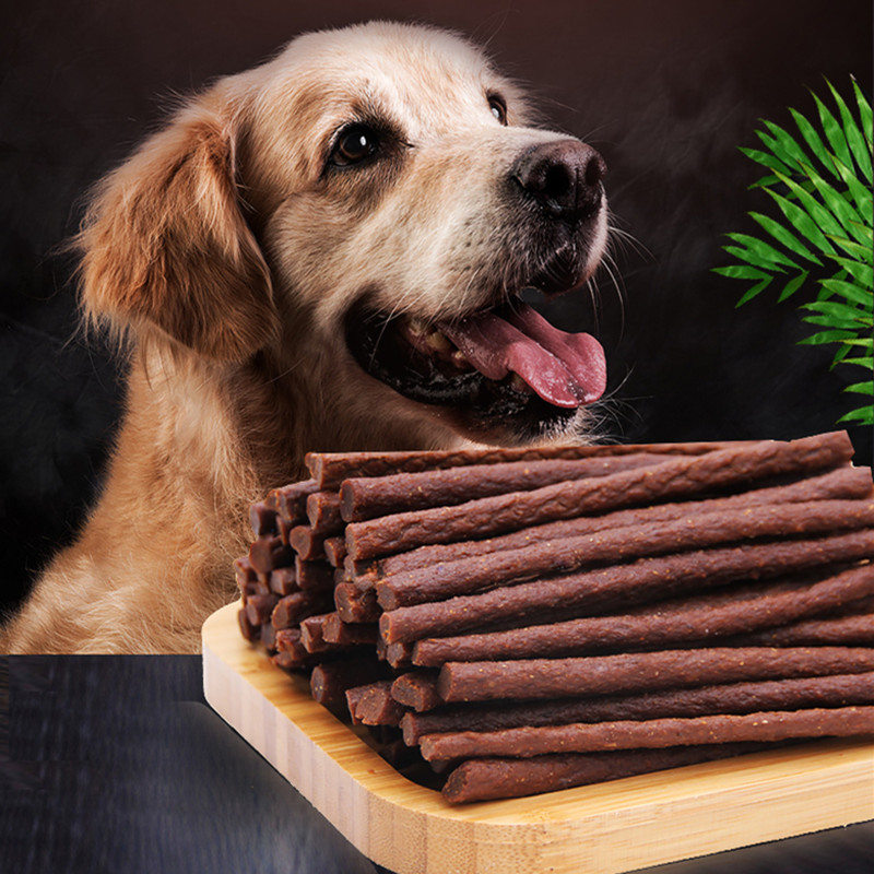 Pet Snack Beef Stick Dog Treats Good Quality Natural Beef With Vitamins Healthy Pet Food Training Rewards Yummy Chew Gum Snacks