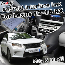 Android / carplay inteface box per Lexus RX 2012-2016 8 di navigazione video interfaccia con GVIF youtube RX270 RX350 RX450h CT200h
