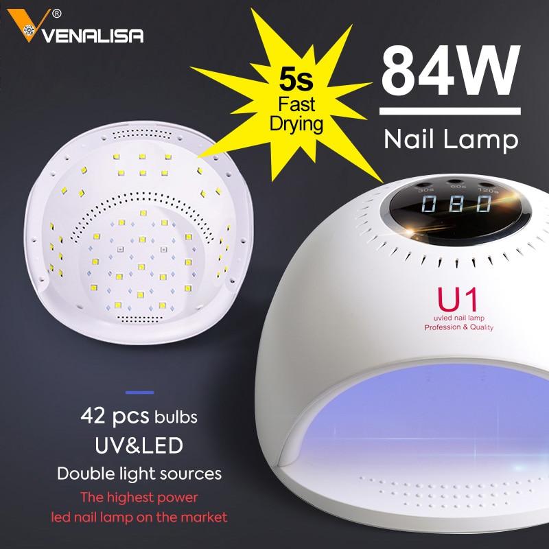 84W UV nagel Lampe gel Polnisch 30 LED Licht 5S 30S 60S Trocknen Fingernagel Zehennagel Schnelle cure led licht lampe maschine-in Nageltrockner aus Haar & Kosmetik bei  Gruppe 1