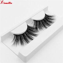 25mm 3D  mink lashes natural long fluffy thick volume individual false eyelashes wholesale makeup dramatic MG04