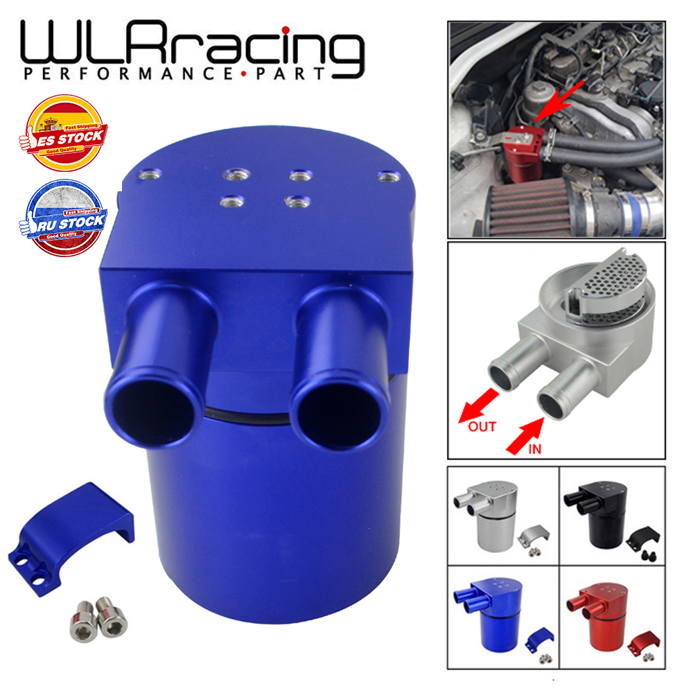 WLR RACING-Универсальный Масляный бак из алюминиевого сплава для BMW N54 335, черный, серебристый, красный, синий, WLR-TK60