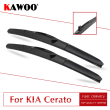 KAWOO For Kia Cerato Car Rubber Wipers Blades 2003 2004 2005 2006 2007 2008 2009 2010 2011 2012 2013 2014 2015 2016 2017 2018