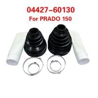 1set  cv joint boot Kit dustproof cover 04427 60130 For Toyota Land Cruiser Prado FJ Cruiser 4Runner Lexus GX460 GX400|CV e peças|Automóveis e motos -