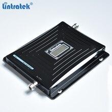 Amplificador de señal Lintratek 2G 3G 4G repetidor de tres bandas 900 1800 2100Mhz Booster GSM 900 3G 2100 4G LTE 1800 repetidor amplificador #5