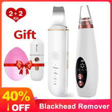 Removal Blackhead-Remover Ultrasonic Skin-Scrubber Pore-Cleaner Pimple Acne Vacuum USB