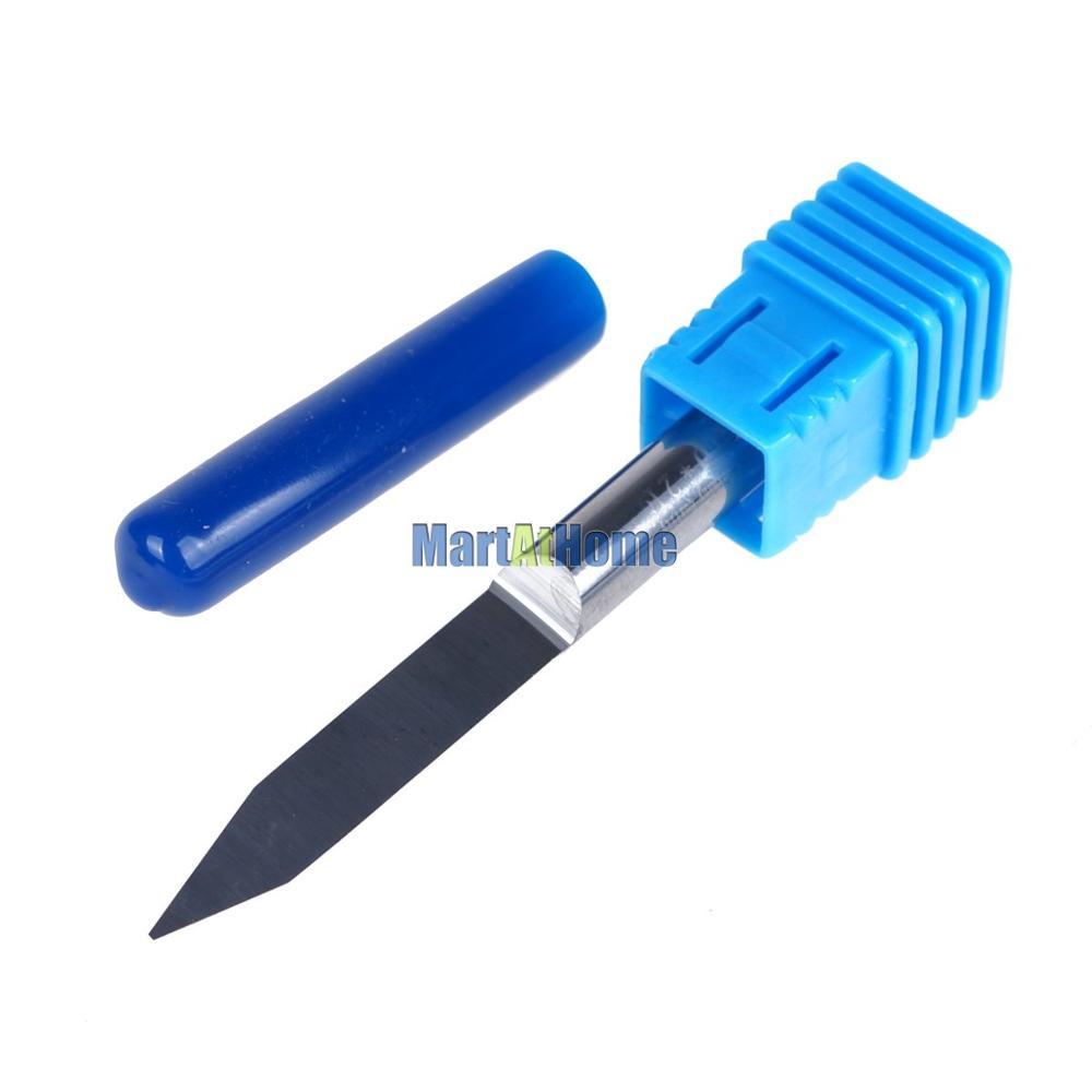 Argedo 2PCS / part 6mm karbiid eriti pikk CNC graveeringuga V bittiga - Tööpingid ja tarvikud - Foto 2