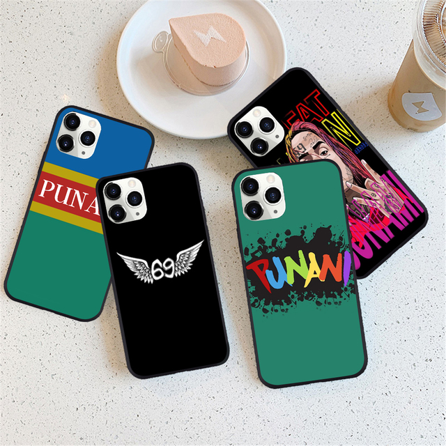 6IX9INE- PUNANI THEMED IPHONE CASE (10 VARIAN)