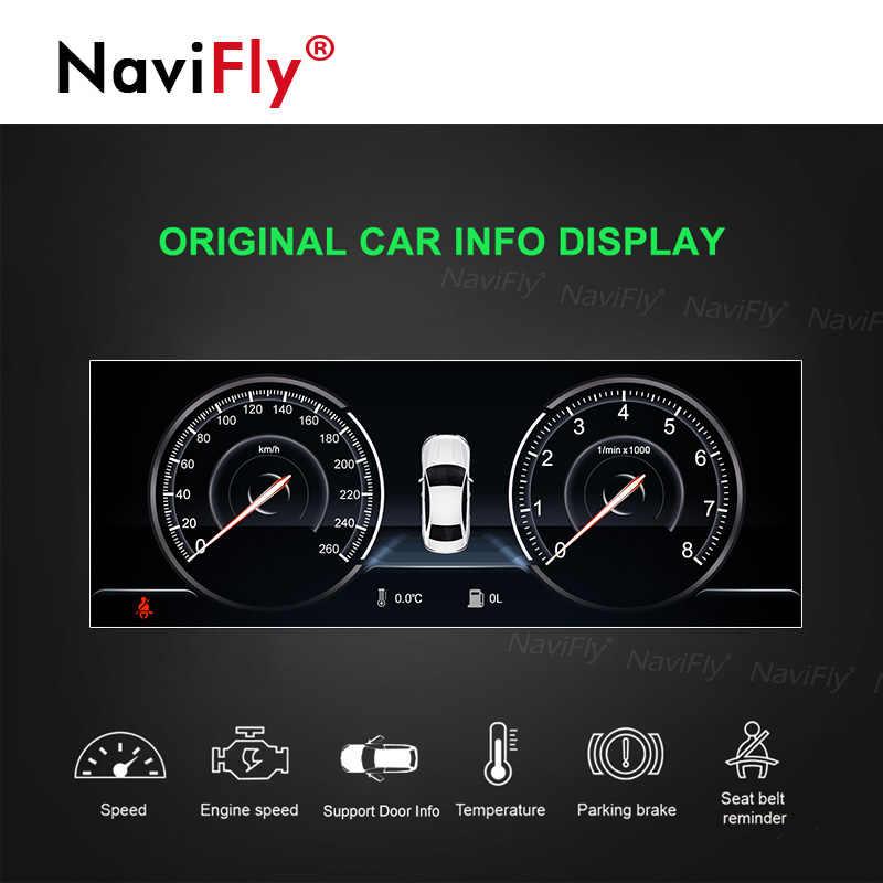 NaviFly Android9.0 4G ram 64G rom автомобильный Радио мультимедийный плеер для BMW 5 серии E60 E61 E63 E64 E90 E91 E92 gps навигация