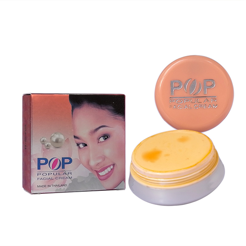POP Pearl whitening & Removal spots Facial Cream 4g Concealer skin care in 7 days