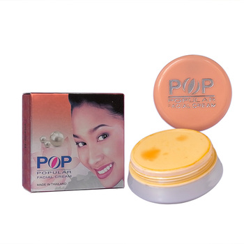 POP Pearl whitening & Removal spots Facial Cream 4g Concealer skin care whitening skin in 7 days skin food 4g