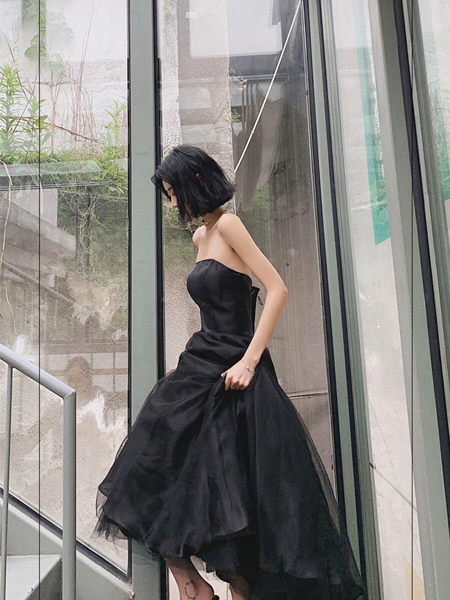 sem alças sem mangas vestido formal feminino e1353