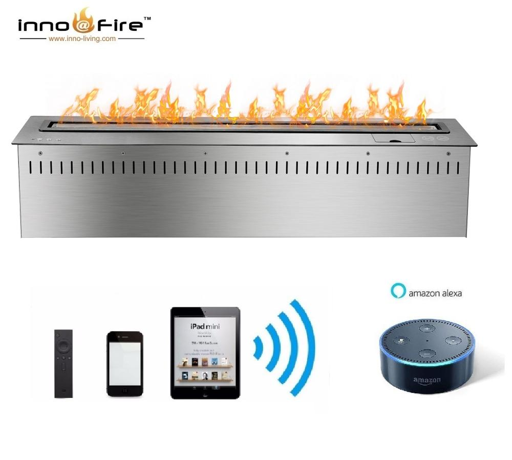 On Sale 1.5M 60 Inch Indoor Bio Fireplace Automatic With Voice Control