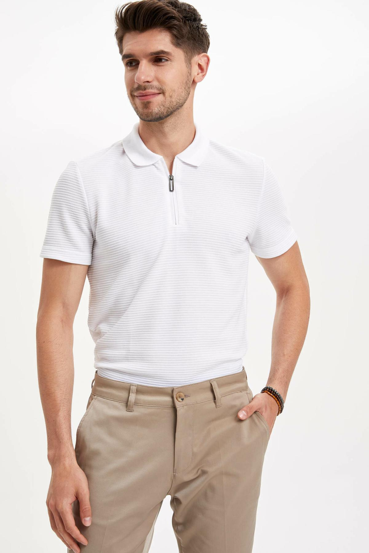 DeFacto Man   Polo   Shirt-L6588AZ19HS