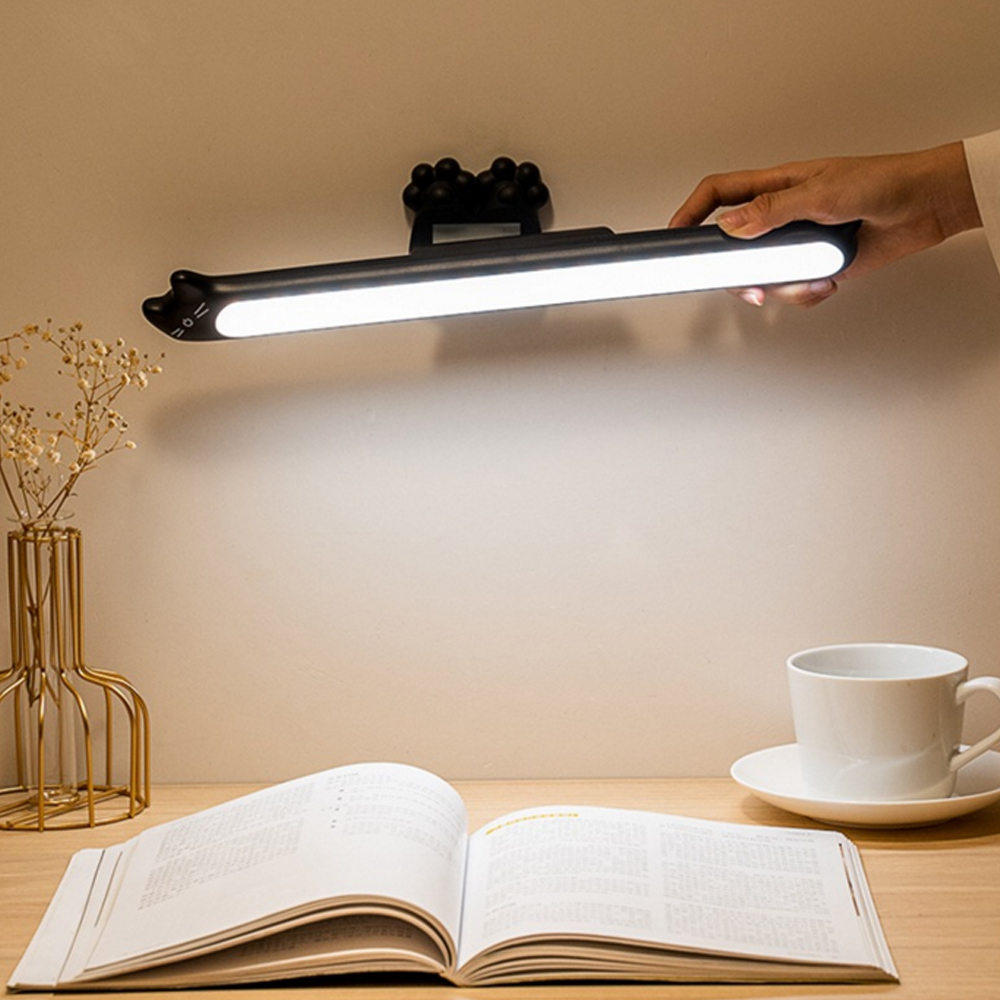 LED Wall Light Magnetic Under Cabinet Light Hangable USB Table Book Lamp High Quality Night Light For Corridor Closet Kitchen
