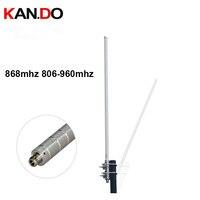6dbi 868mhz 806 960mhz Omnidirectional fiberglass antenna wireless transmission monitoring terminal IOT antenna
