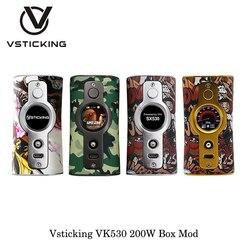Elektronische Sigaret Vsticking VK530 200W Box Mod YiHi SX530 Chip Aangedreven Door Dual 18650 Batterij Vape Vaporizer VS Smoant charon