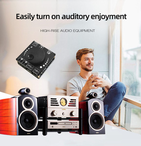 Image 4 - Mini Bluetooth 5.0 50WX2 Wireless Audio Power Digital Amplifier Board Stereo Amp 3.5MM AUX USB APP AP50L