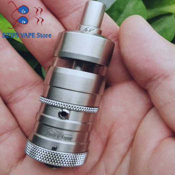 YFTK Flash e-Vapor V4.5S+ RTA 23mm 316SS RTA Rebuildable Tank Atomizer for Electronic Cigarette Vaporizer Vape Mod vs nano RTA image