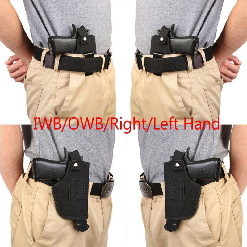 Gun Holster Depring IWB OWB Concealed Carry Holster For Right And Left Hand Draw Fits Subcompact To Large Handguns
