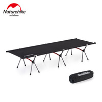 Naturehike Ultralight Compact Heavy Duty Portable Foldable Camping Cot Folding Camping Bed Travel Backpacking Sleeping Cot