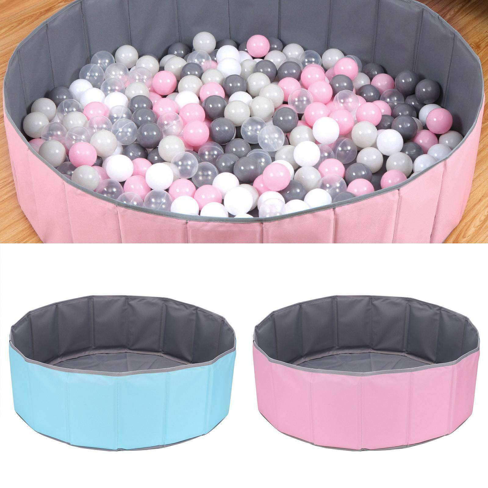 Kids Game Play Toy Tent Ocean Ball Pit Pool Children Baby Indoor Easy Foldable - Balls Not Included