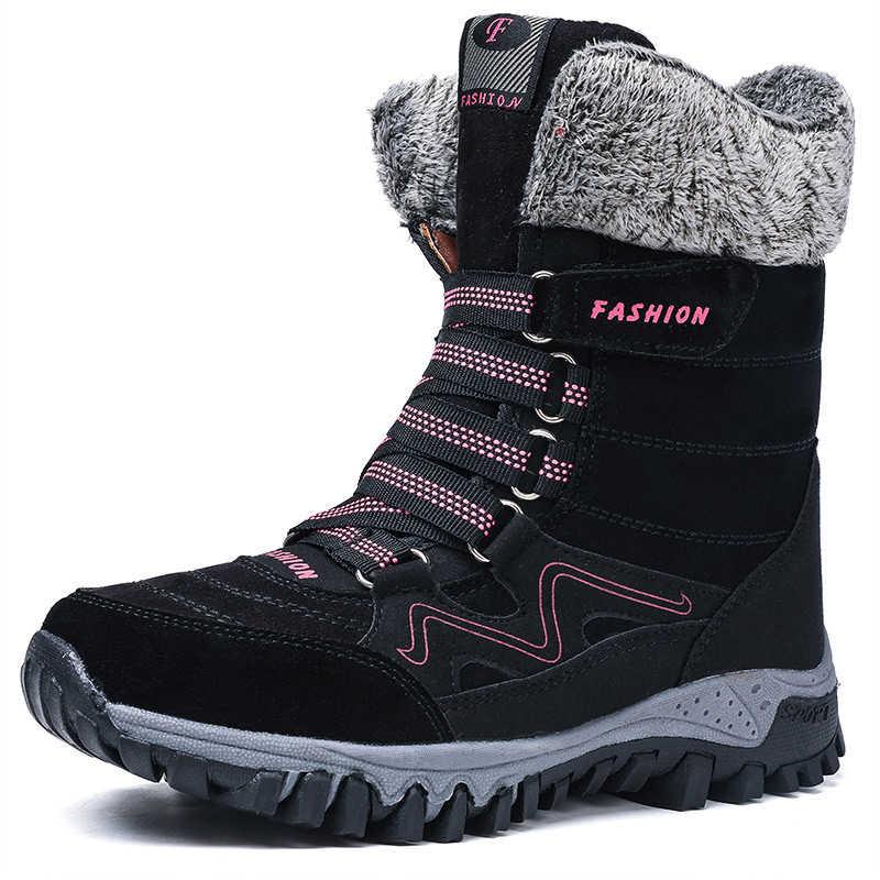 Mùa Đông Giày Giữ Ấm Ủng Dành Cho Quý Cô Gái Size Lớn Mùa Đông Giày Nữ Chống Trượt Giày