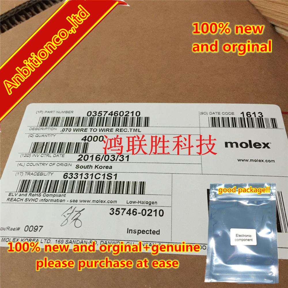 10-100pcs 100% New And Orginal Connector 35746-0210 357460210in Stock