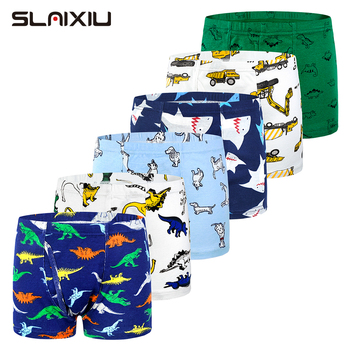6-Pack Shorts Boys Underwear Kids Boxer panties for 2-10 years Soft Organic Cotton Teenager Children's Pants baby Underpant - discount item  46% OFF Children's Clothing